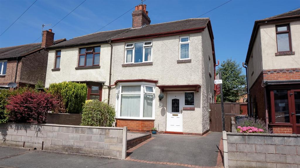 2 Bedrooms Semi Detached House for sale in West View, Wolstanton, Newcastle, Staffs