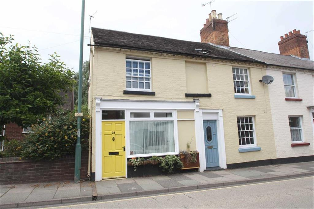 2 Bedrooms End Of Terrace House for sale in Belle Vue Road, Shrewsbury