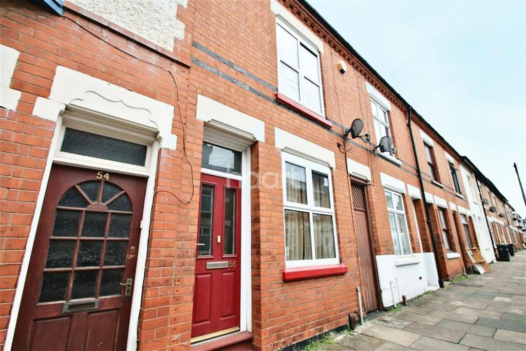 2 Bedrooms Terraced House for sale in Wolverton Road, West End, Leicester