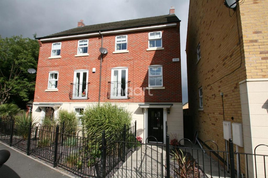 4 Bedrooms Semi Detached House for sale in Alderman Close, Beeston