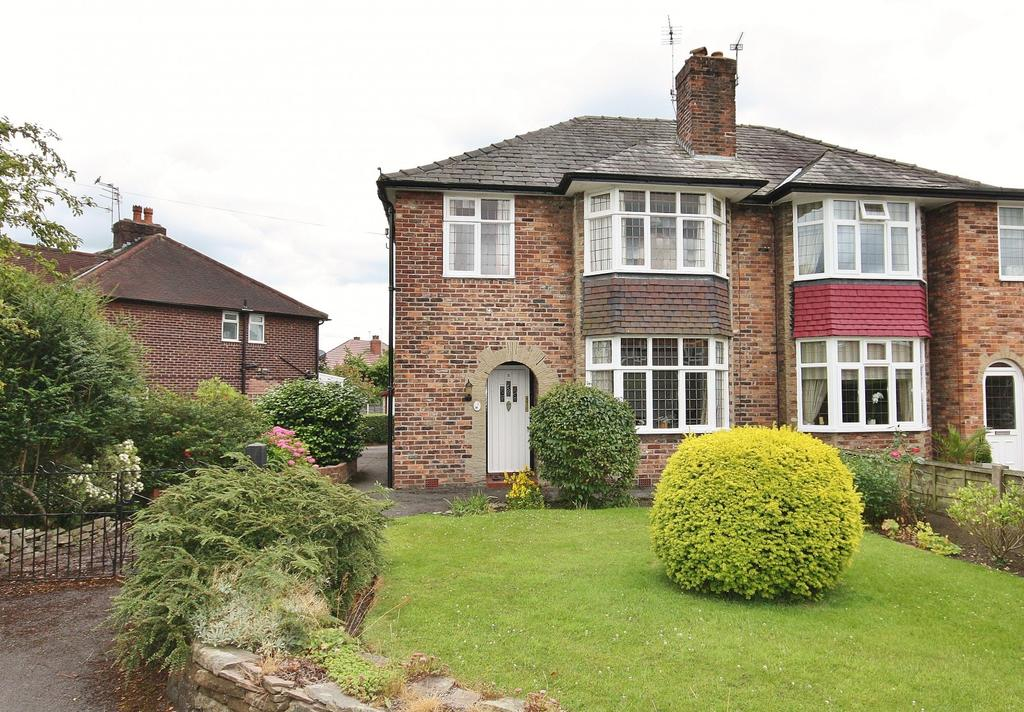 3 Bedrooms Semi Detached House for sale in Windsor Avenue, Wilmslow