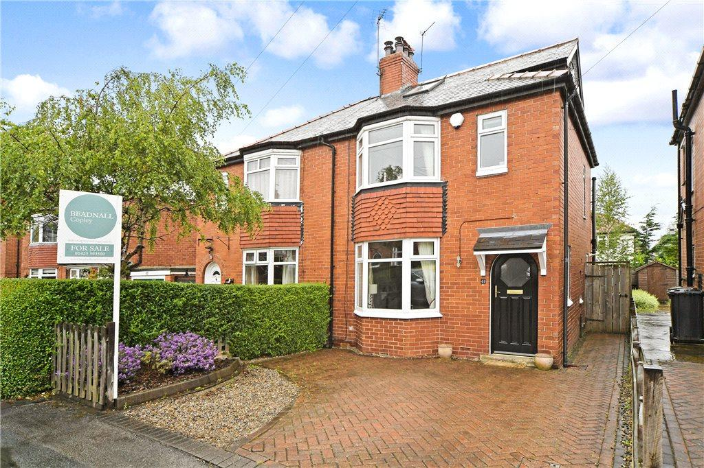 4 Bedrooms Semi Detached House for sale in Harlow Crescent, Harrogate, North Yorkshire
