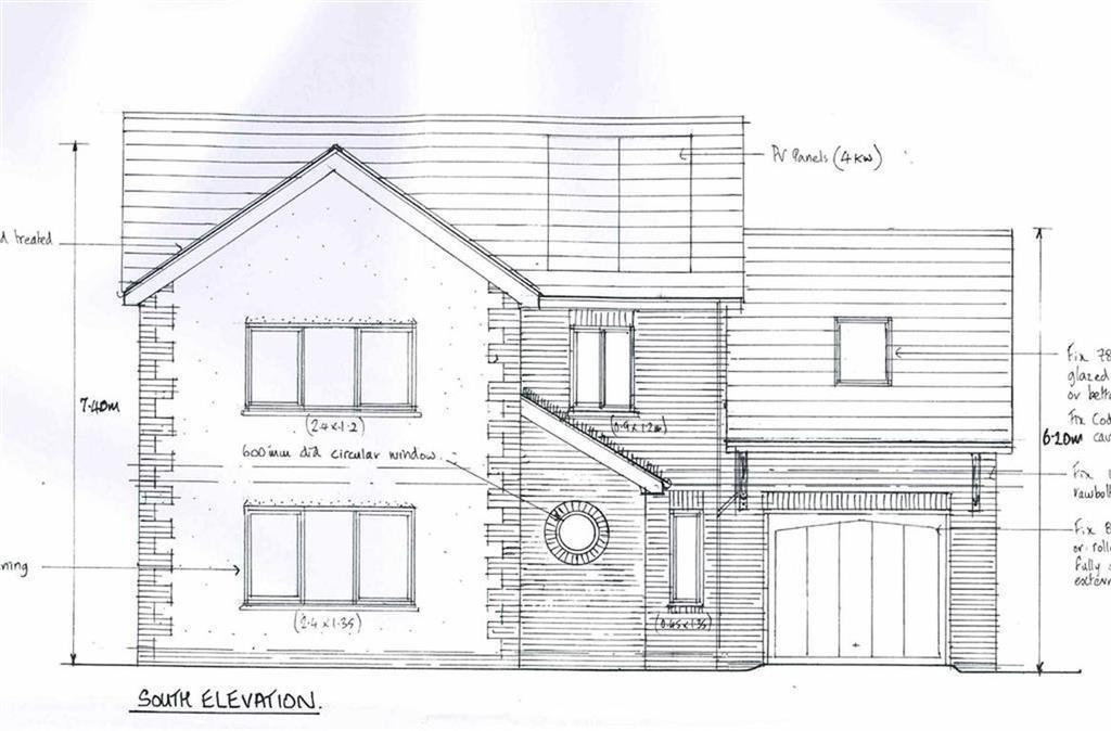 4 Bedrooms Detached House for sale in Plot I, Bryn Eglur, Aberystwyth, Aberystwyth, Ceredigion, SY23