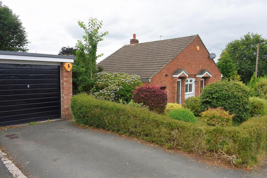 2 Bedrooms Semi Detached Bungalow for sale in Hunters Hill, Weaverham