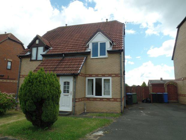 2 Bedrooms Semi Detached House for sale in BARSLOAN GROVE, PETERLEE, PETERLEE