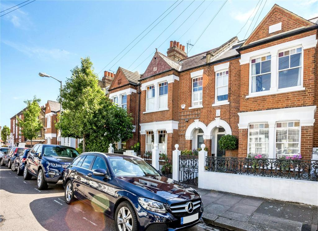 4 Bedrooms Terraced House for sale in Roskell Road, Putney, London, SW15