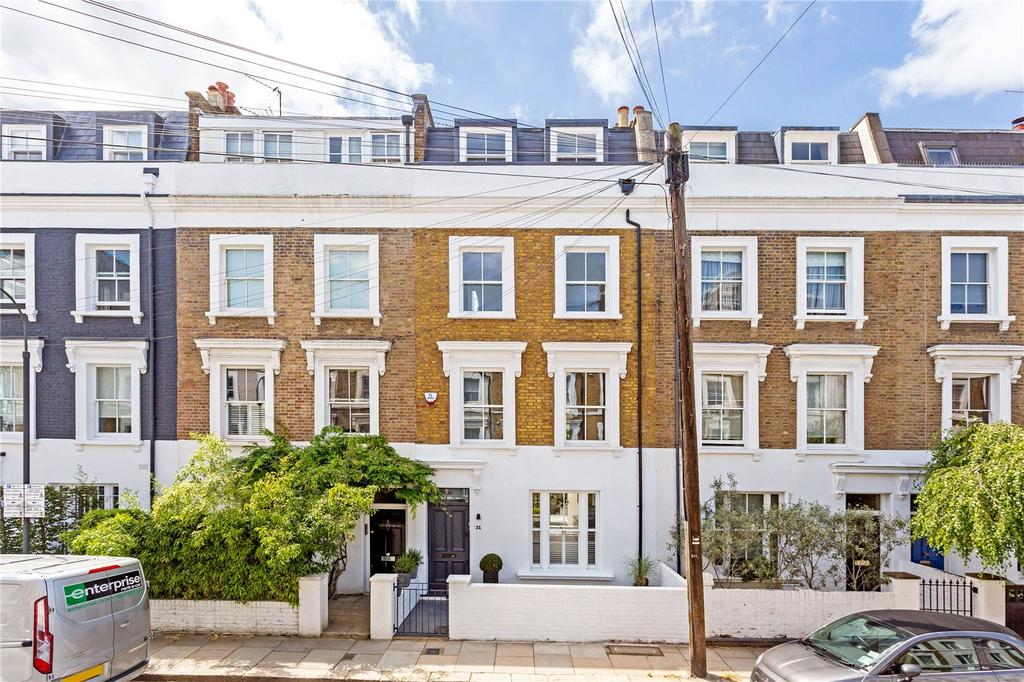 5 Bedrooms Terraced House for sale in Holmead Road, Fulham, London, SW6