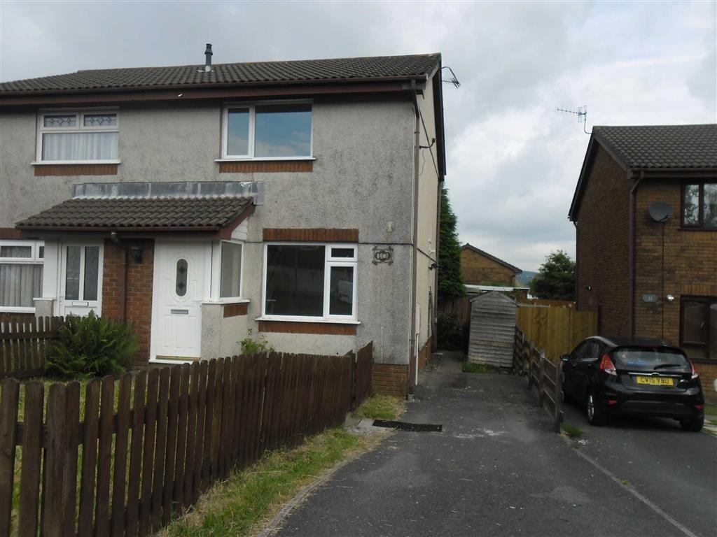 2 Bedrooms Semi Detached House for sale in Heol Elfed, Llansamlet, Swansea