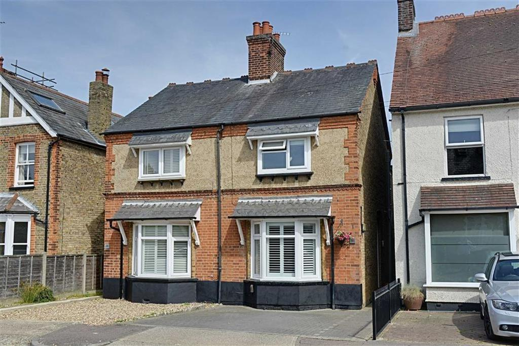 3 Bedrooms Semi Detached House for sale in Duncombe Road, Bengeo, Herts, SG14