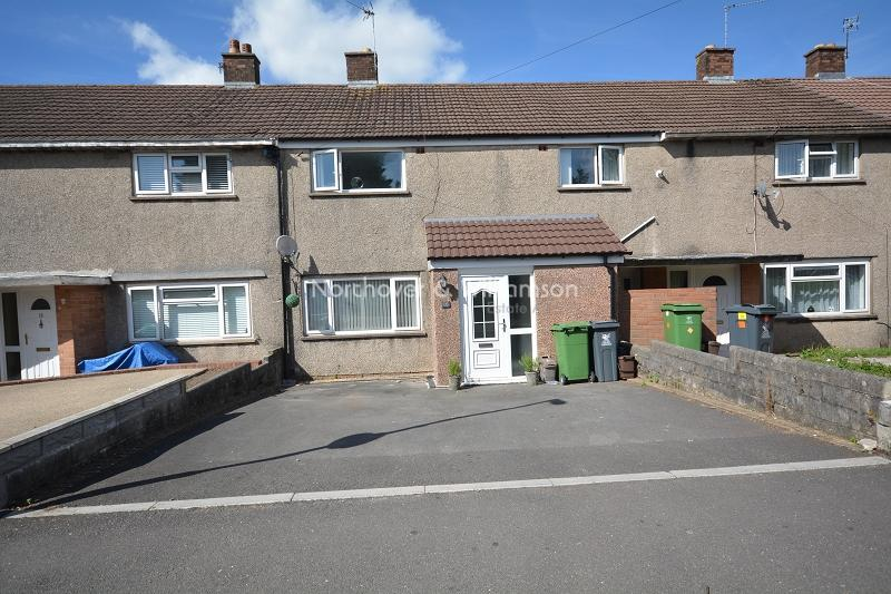 3 Bedrooms Terraced House for sale in Blagdon Close, Llanrumney, Cardiff. CF3