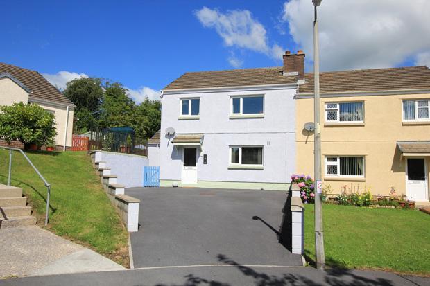 3 Bedrooms Semi Detached House for sale in Hydfron Close, Llanddowror, Carmarthen, Carmarthenshire