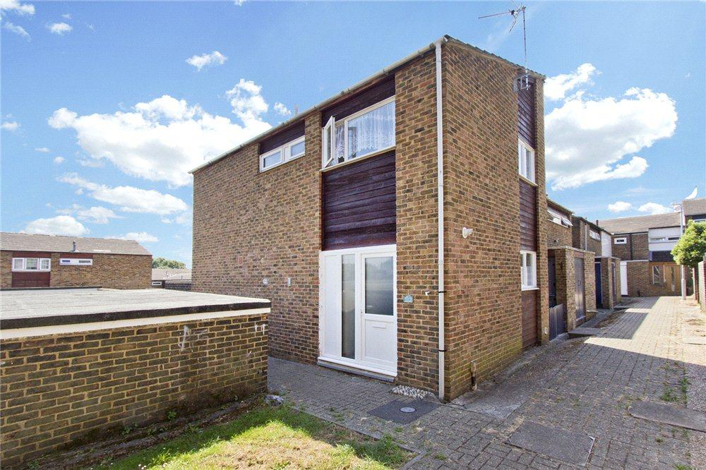 3 Bedrooms End Of Terrace House for sale in Kestrel Close, Edenbridge, Kent