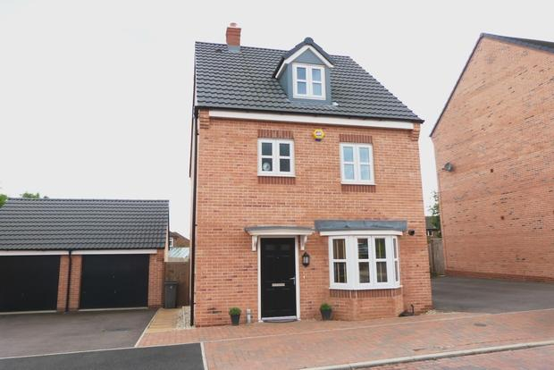 4 Bedrooms Detached House for sale in Knightwood Road, Leicester, LE4
