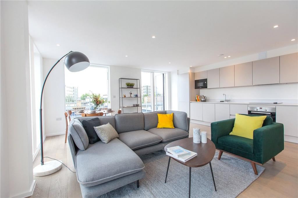 3 Bedrooms Flat for sale in Canterbury Lofts, Canterbury Lofts, Canterbury Road, Queens Park, NW6