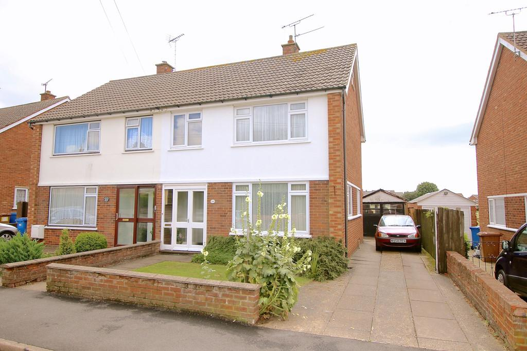 3 Bedrooms Semi Detached House for sale in Dryden Road, Ipswich