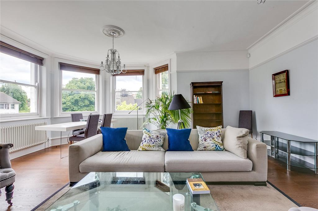 2 Bedrooms Flat for sale in Heath Mansions, Putney Heath Lane, Putney, London