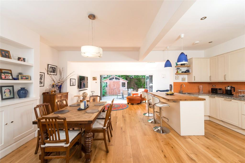5 Bedrooms Semi Detached House for sale in Elmwood Road, Chiswick, London