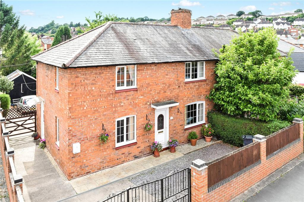 3 Bedrooms Semi Detached House for sale in Erw Wen, Welshpool, Powys