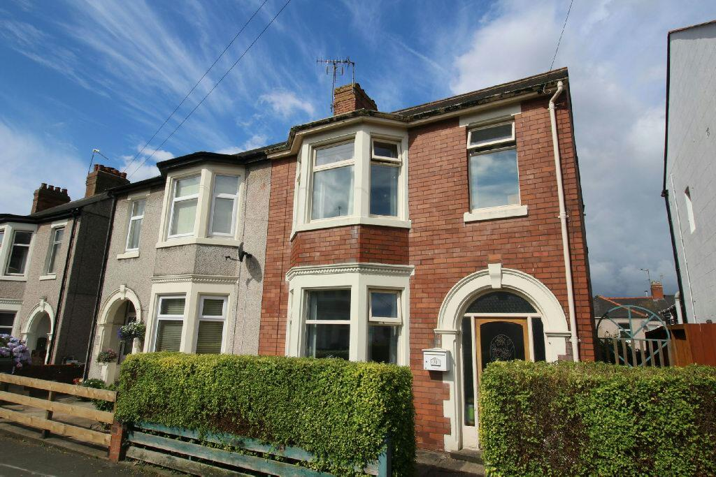 3 Bedrooms Semi Detached House for sale in Hubert Road, NEWPORT