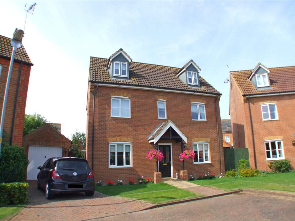 4 Bedrooms Detached House for sale in Fallowfields, Deeping St. Nicholas, Spalding, Lincolnshire, PE11