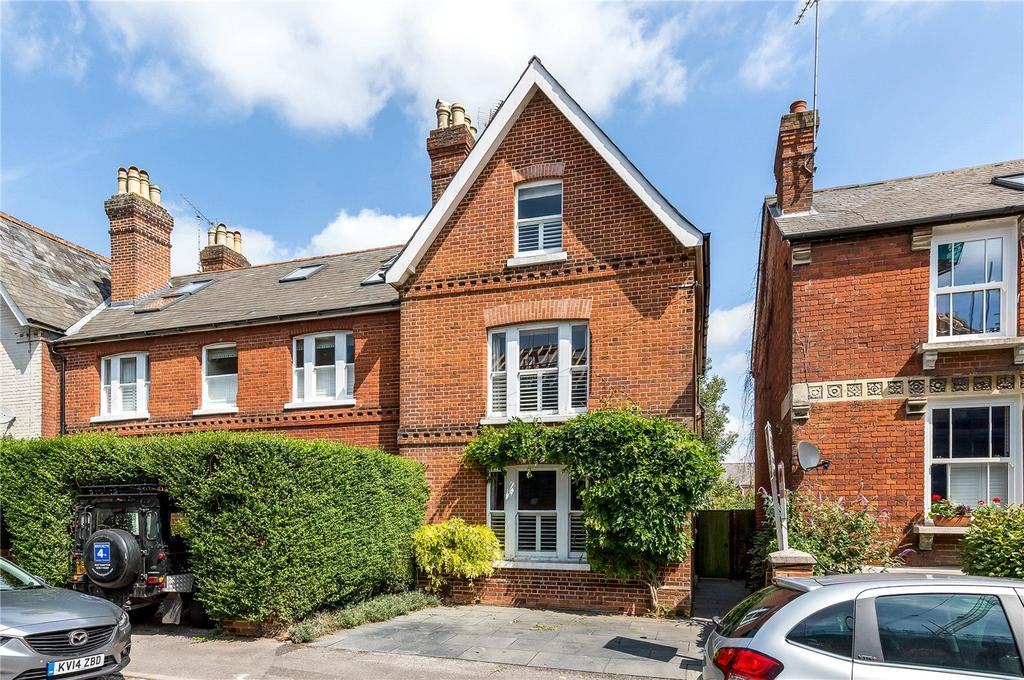 4 Bedrooms End Of Terrace House for sale in Victoria Road, Winchester, Hampshire, SO23