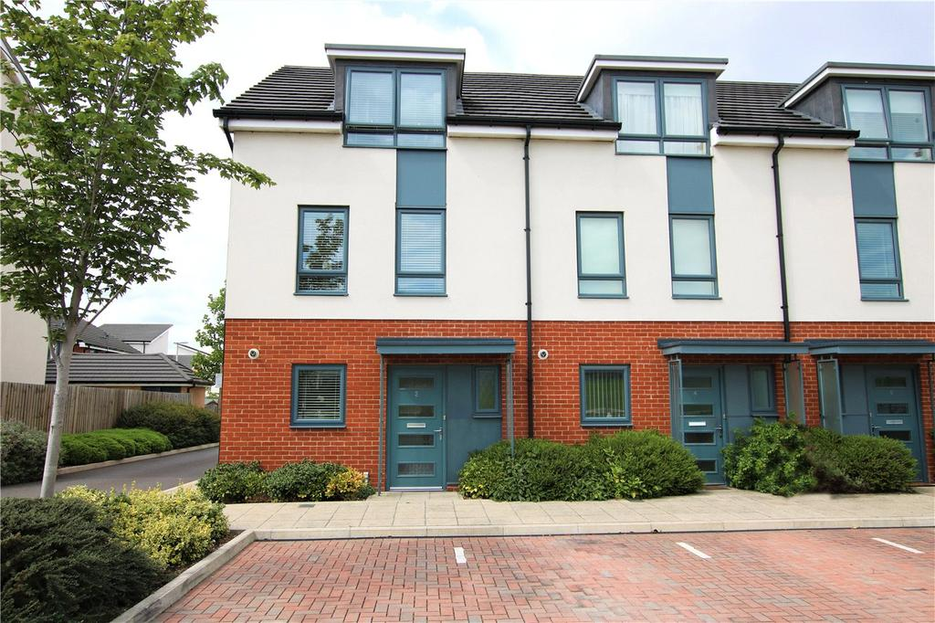 3 Bedrooms End Of Terrace House for sale in Greenham Avenue, Reading, Berkshire, RG2