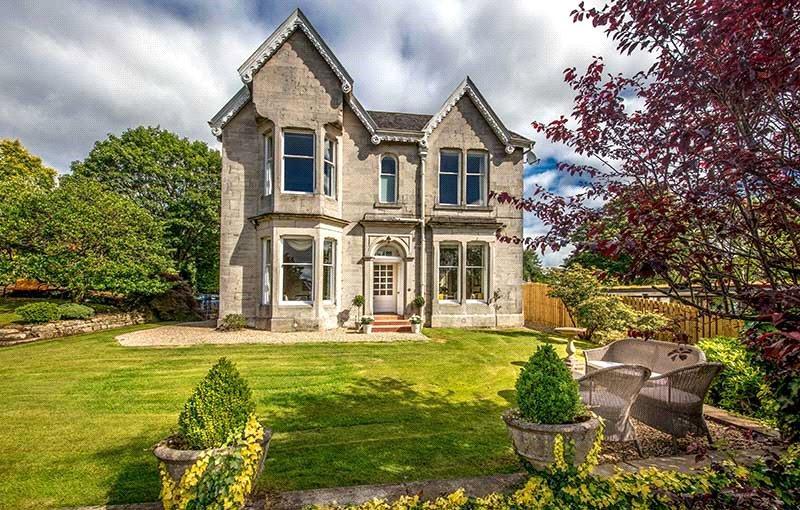 4 Bedrooms Detached House for sale in Oakbank, Roman Road, Bearsden, Glasgow