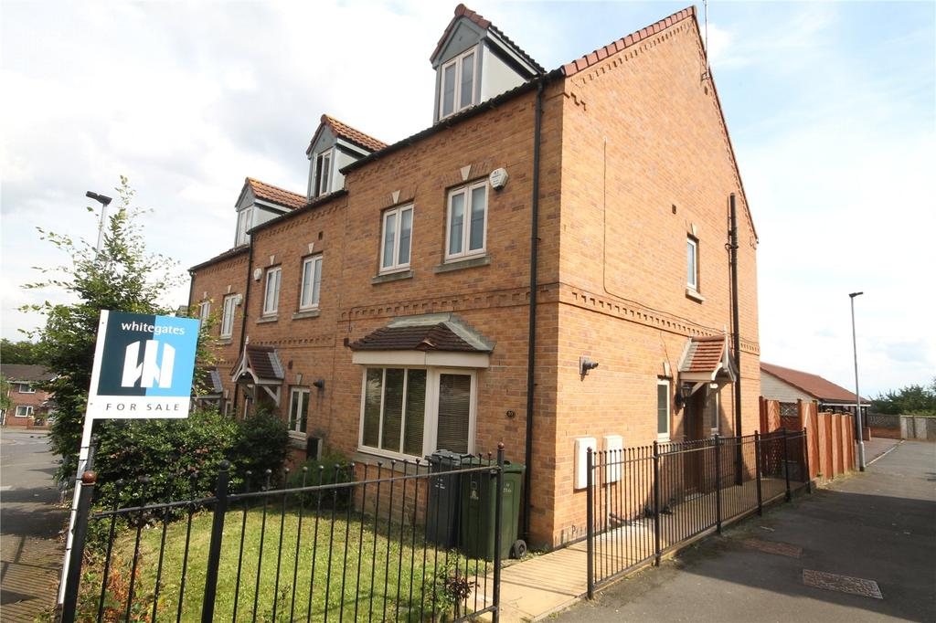 4 Bedrooms End Of Terrace House for sale in Belle Green Lane, Cudworth, Barnsley, S72