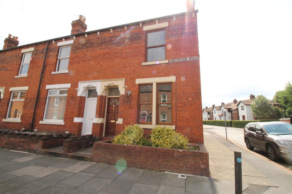 2 Bedrooms End Of Terrace House for sale in Greystone Road, Carlisle
