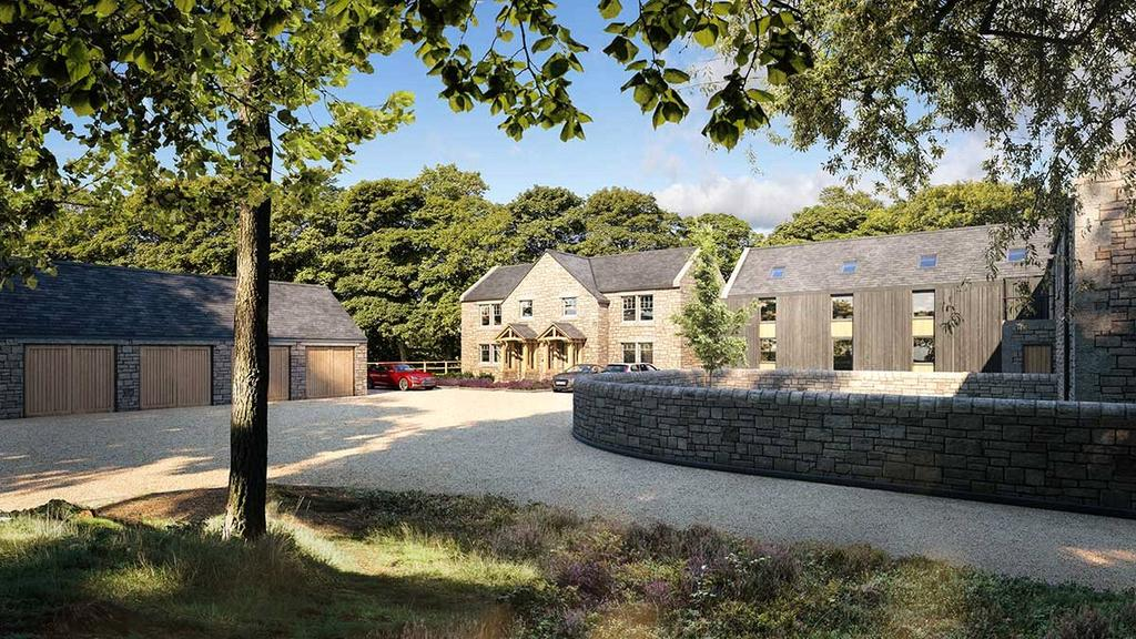 4 Bedrooms Barn Conversion Character Property for sale in Hebron Hill Farm, Hebron, Morpeth, Northumberland