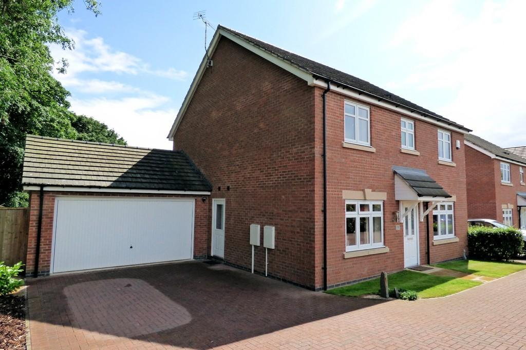 4 Bedrooms Detached House for sale in Boundary Close, Burton-on-Trent