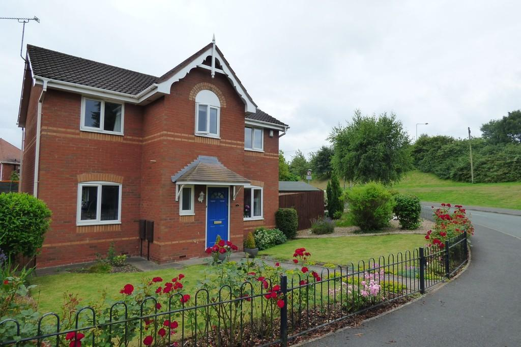 4 Bedrooms Detached House for sale in Seagram Way, Uttoxeter