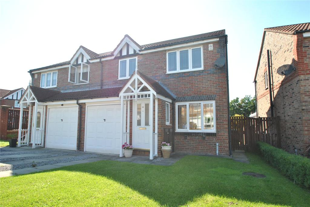 3 Bedrooms Semi Detached House for sale in Cottonwood, Biddick Woods, Tyne and Wear, DH4