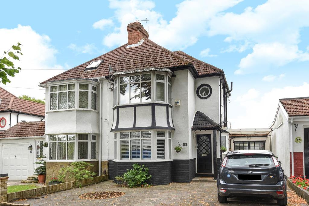3 Bedrooms Semi Detached House for sale in Lime Tree Walk, West Wickham