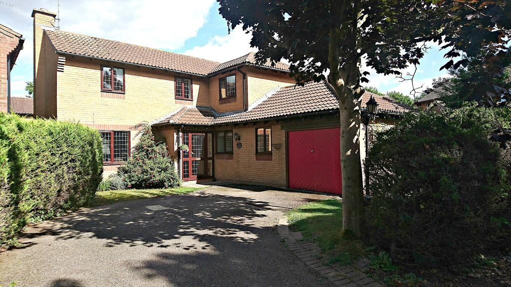 4 Bedrooms Detached House for sale in Oak Road, Brackley
