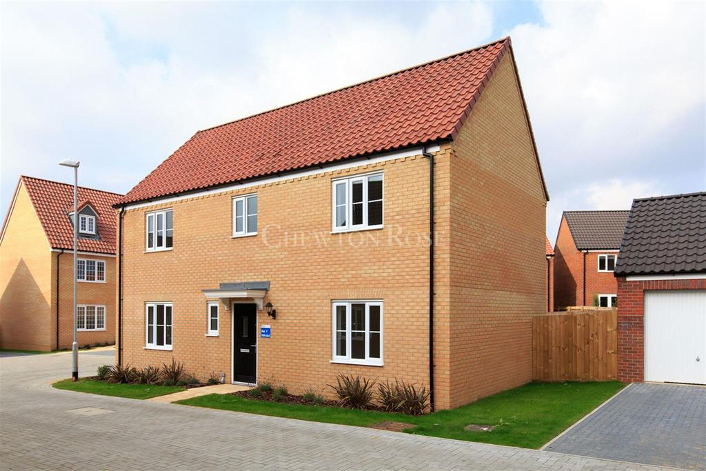 4 Bedrooms Detached House for sale in Plot 007, The Canterbury, Saxon Fields