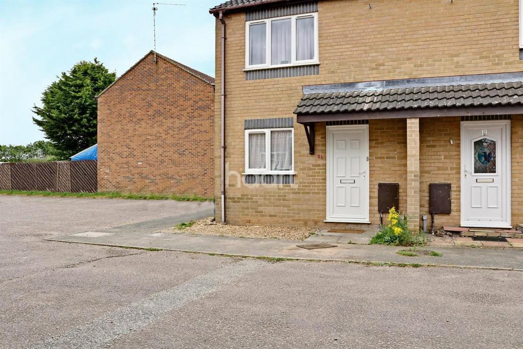 2 Bedrooms End Of Terrace House for sale in Harrys Way, Wisbech