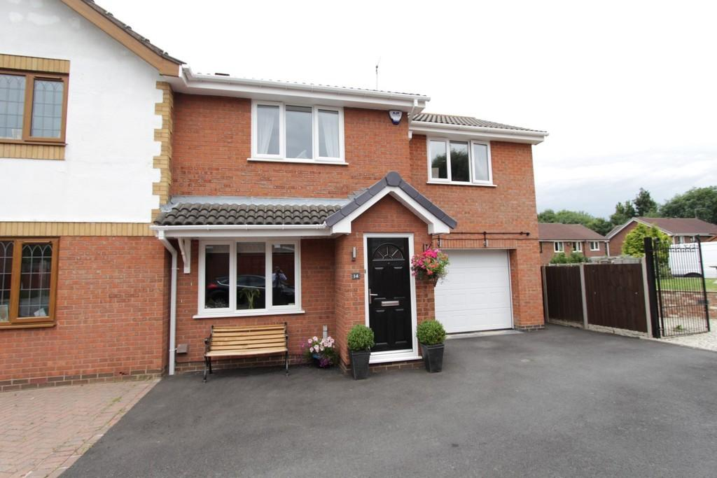 3 Bedrooms Semi Detached House for sale in Suffolk Way, Fazeley