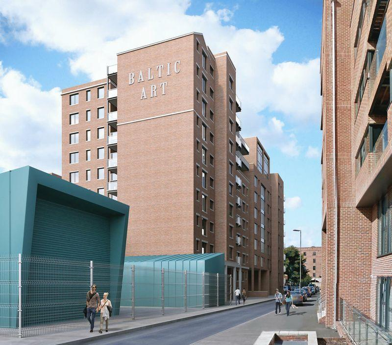 2 Bedrooms Apartment Flat for sale in 2 Bed flat in the Arts Development