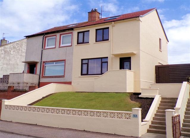 3 Bedrooms Semi Detached House for sale in 53, Davaar Avenue, Campbeltown