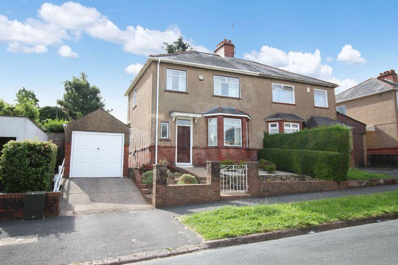 3 Bedrooms Semi Detached House for sale in Cornwall Road, St Julians, Newport