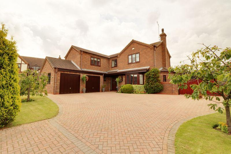 4 Bedrooms Detached House for sale in Birchwood Close, Barton-Upon-Humber