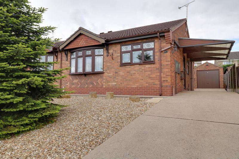 2 Bedrooms Semi Detached Bungalow for sale in Conference Court, Scunthorpe