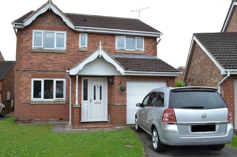 4 Bedrooms Detached House for sale in Sorrel Way, Scunthorpe