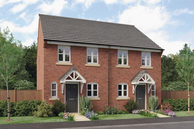 2 Bedrooms Semi Detached House for sale in THE BURROUGHS, PRIORY GRANGE, MOUNT PLEASANT ROAD, REPTON