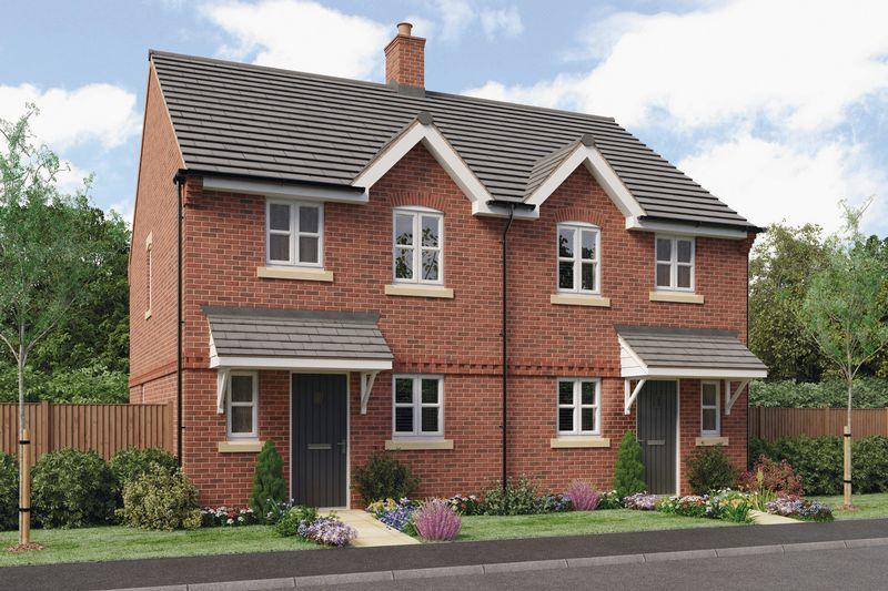 3 Bedrooms Semi Detached House for sale in THE HAWTHORNE, PRIORY GRANGE, MOUNT PLEASANT ROAD, REPTON