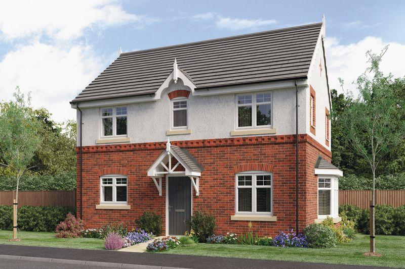 3 Bedrooms Detached House for sale in THE GREGORY, PRIORY GRANGE, MOUNT PLEASANT ROAD, REPTON
