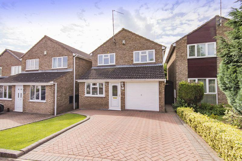 3 Bedrooms Detached House for sale in LAMBOURN DRIVE, ALLESTREE, DERBY