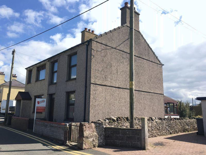 2 Bedrooms Semi Detached House for sale in Brynsiencyn, Anglesey. For Sale By Auction 12th October 2017 Subject to Auction Terms Conditions