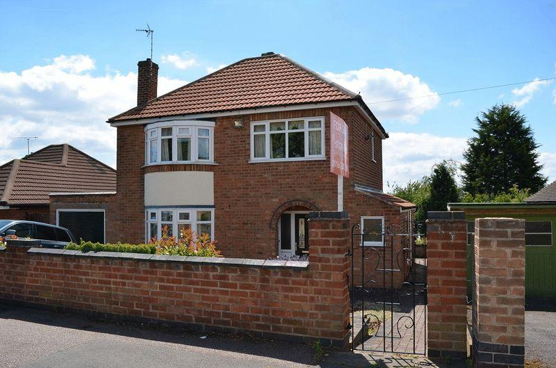 3 Bedrooms Detached House for sale in Church Hill Road, Thurmaston